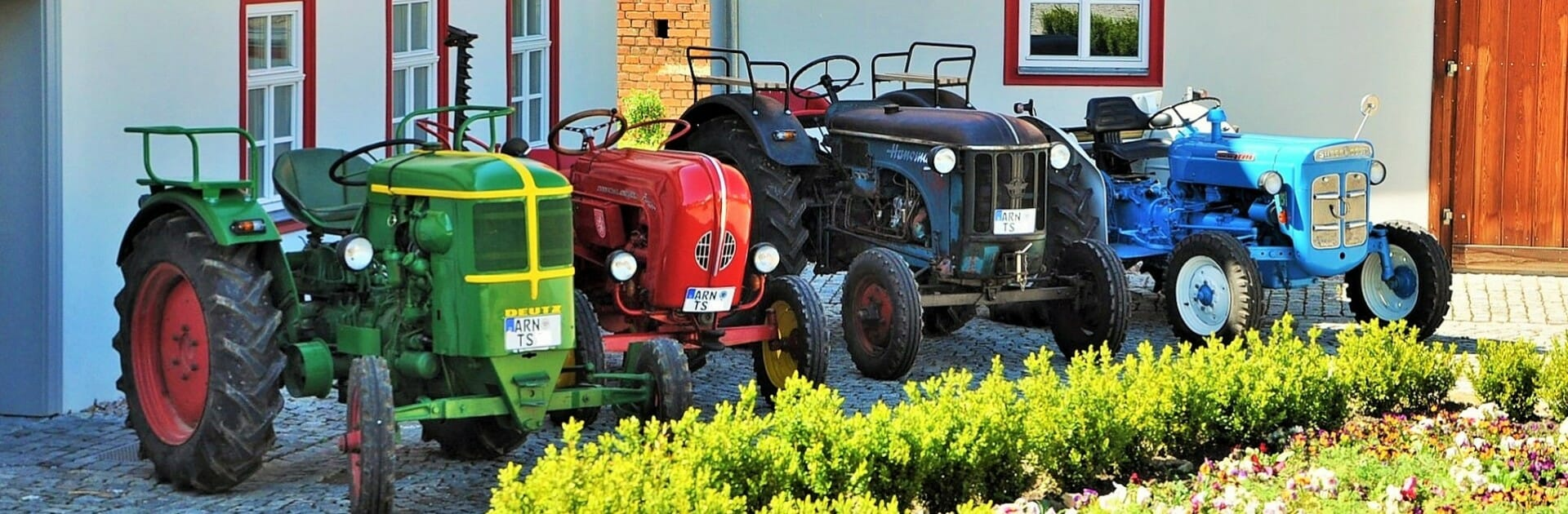 Traktorspass am Riechheimer